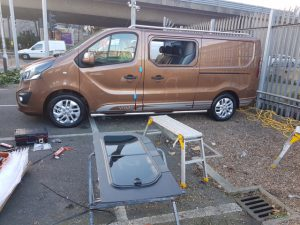 Car Glass Service - Van Conversion - Vauxhall Vivaro