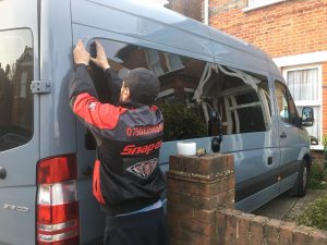 Car Glass Service - Van Conversion - Mercedes Sprinter