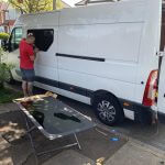 Car Glass Service - Van Conversion - Nissan NV400